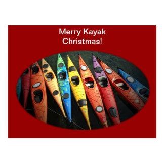 Kayak Time Post Card