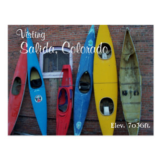 Kayak Wall II Postcard