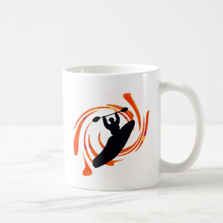 kayak Waters Rising Coffee Mug