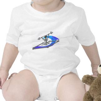 Kayak Wavey Bones T-shirts