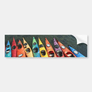Kayak World Bumper Sticker
