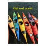 Kayak World Greeting Cards