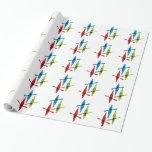 kayak wrapping paper