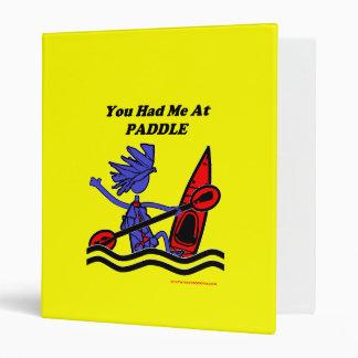 Kayak: You Had Me At Paddle Binder