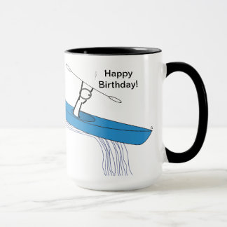 Kayaker Birthday Mug