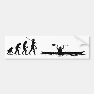 Kayaker Pegatina Para Auto