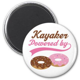 Kayaker Funny Gift Fridge Magnets