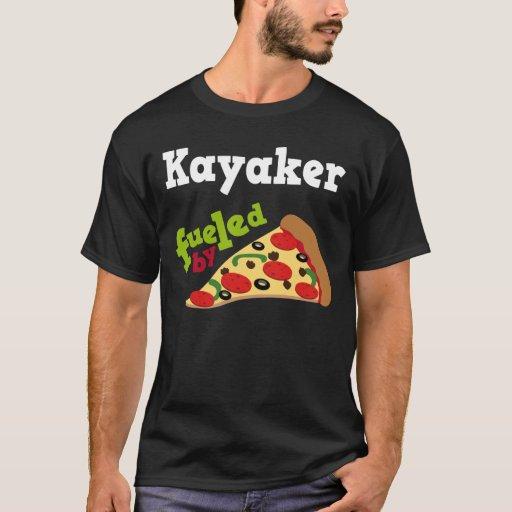 Kayaker (Funny) Pizza T Shirt
