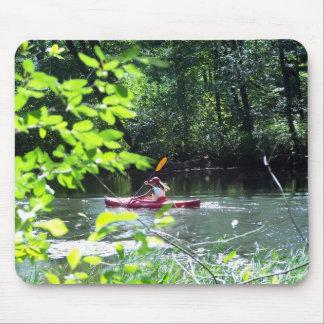Kayaker Mousepads