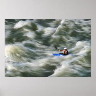 Kayaker Poster