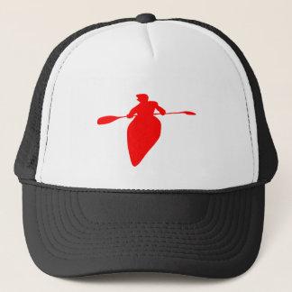 Kayaker Red Trucker Hat