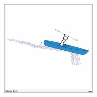 Kayaker Wall Sticker