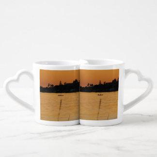 Kayakers Coffee Mug Set