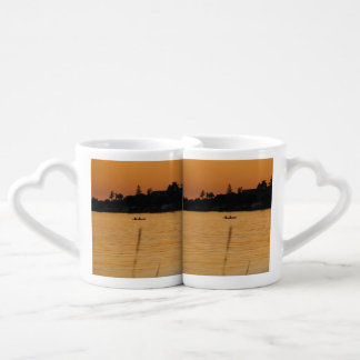 Kayakers Couples Coffee Mug