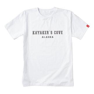 Kayaker's Cove Alaska Zazzle HEART T-Shirt