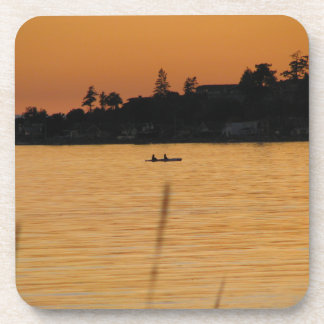 Kayakers Drink Coaster