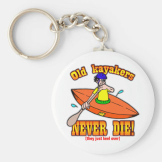 Kayakers Keychain