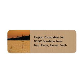 Kayakers Label