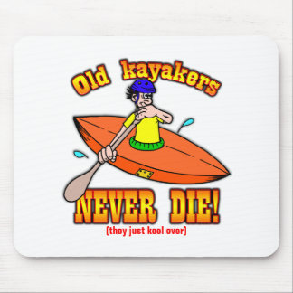 Kayakers Mouse Pad