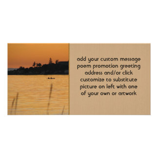 Kayakers Photo Card