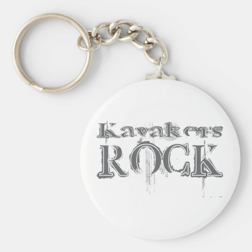 Kayakers Rock Key Chains