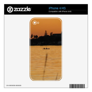 Kayakers Decals For The iPhone 4S