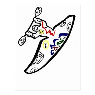 Kayaki hace frente postales