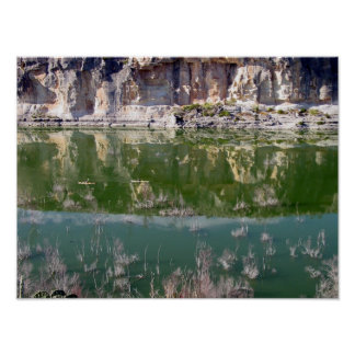 Kayaking Amistad National Recreation Area Print