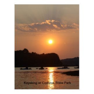 Kayaking At Codorus State Park Postcard