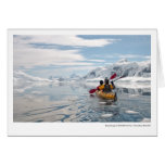 Kayaking at Skontorp Cove, Paradise Harbor Greeting Cards