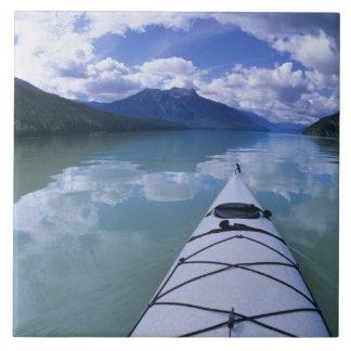 Kayaking at the end end of Azure Lake in Wells Ceramic Tile