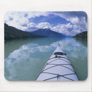 Kayaking at the end end of Azure Lake in Wells Mouse Pad