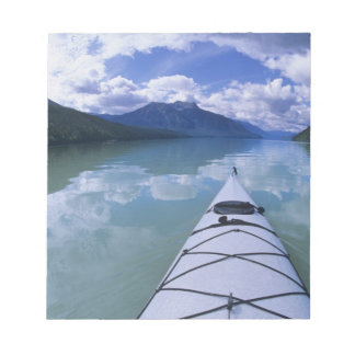 Kayaking at the end end of Azure Lake in Wells Notepad