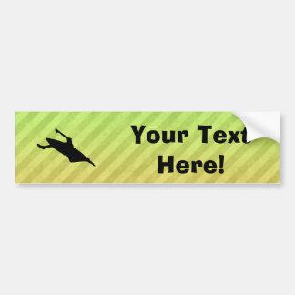 Kayaking Bumper Sticker