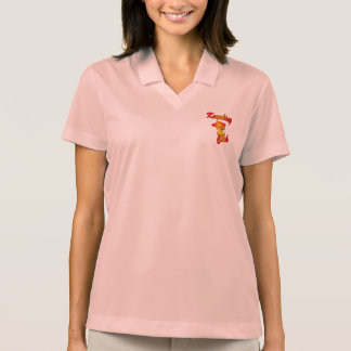 Kayaking Chick #5 Polo Shirt