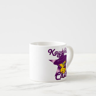 Kayaking Chick #9 Espresso Cup