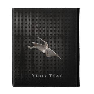 Kayaking; Cool Black iPad Cases