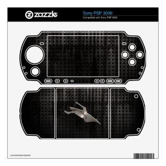Kayaking; Cool Black PSP 3000 Skin