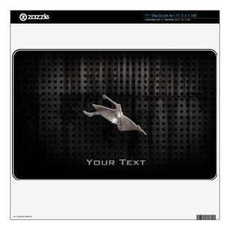Kayaking; Cool Black MacBook Air Skin