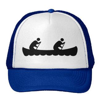 Kayaking couple trucker hat