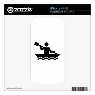 Kayaking Decals For The iPhone 4S