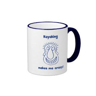 Kayaking Drives Me Crazy Mug