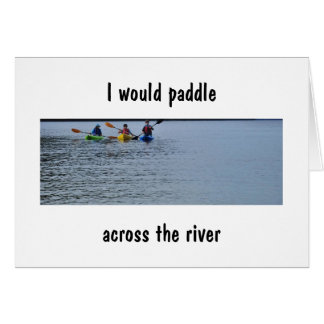 """KAYAKING, DRIVING, FLYING/DRIVING get to """"YOU"""" Card"""