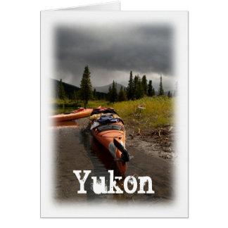 Kayaking el Lapie; Recuerdo del territorio del Tarjeta Pequeña