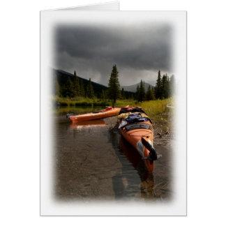 Kayaking el Lapie Tarjeta Pequeña