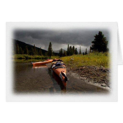 Kayaking el Lapie Tarjeton