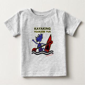 Kayaking Fearless Fun Baby T-Shirt