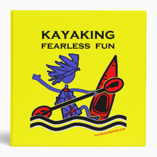 Kayaking Fearless Fun Binder