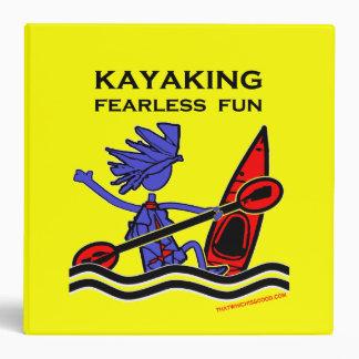 Kayaking Fearless Fun Binder