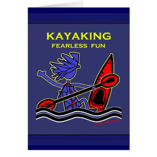 Kayaking Fearless Fun Card